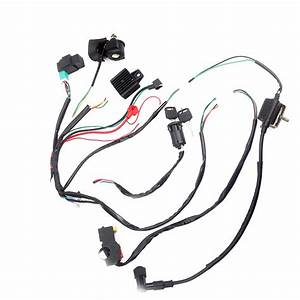 Atv Wiring Harness Loom Solenoid Coil Kill Switch Cdi Pit