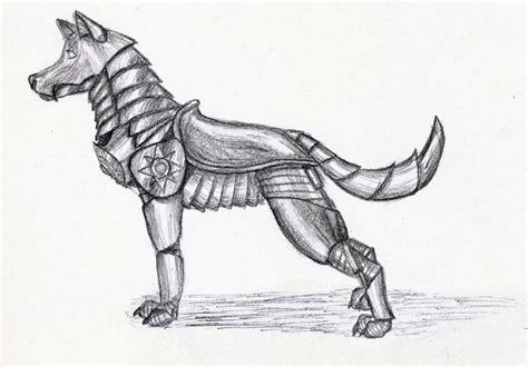 Mecha Dog By Tombraidingwolf On Deviantart