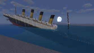 r m s titanic sinking minecraft project