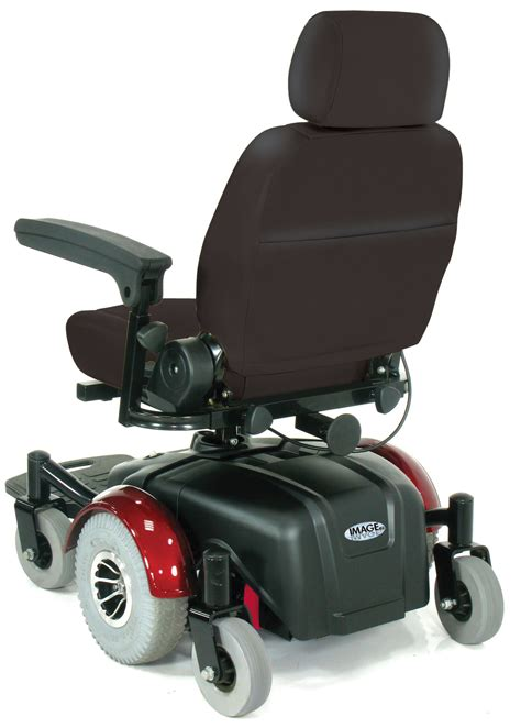 image ec mid wheel drive power wheelchair 20 quot 2800ecbu