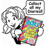 Diary Clipart Dork Diaries Drawing Friends Nikki