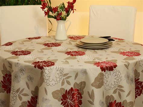 Tischdecke Runder Tisch by Runde Tischdecken F 252 R Runde Tische Tideko 174 Tischdecken