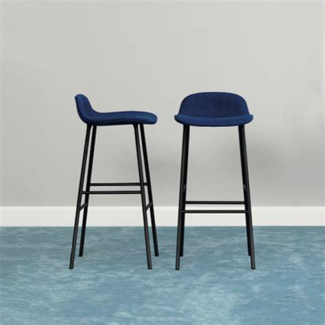 chaise de bar confortable enchanteur tabouret de bar bleu avec chaise de bar