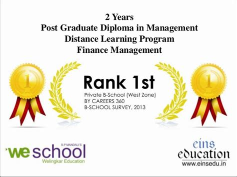 diploma in digital marketing distance learning distance mba in finance management from welingkar
