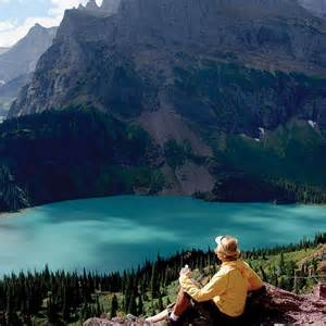 Montana Glacier National Park Hiking Trail