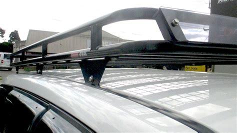 Mitsubishi Pajero roof racks