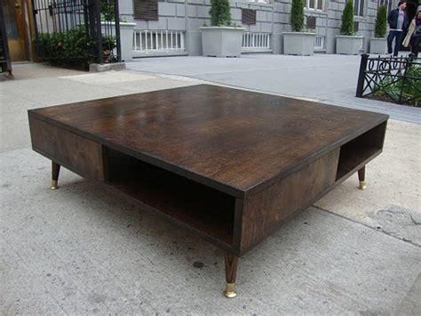 diy mid century modern coffee table coffee table design