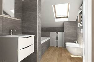 Sol Bois Salle De Bain : parquet flottant idee sol bois salle bains ideeco ~ Premium-room.com Idées de Décoration
