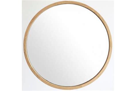 chaise chene miroir rond en chêne massif diamètre 50 ou 80 cm la