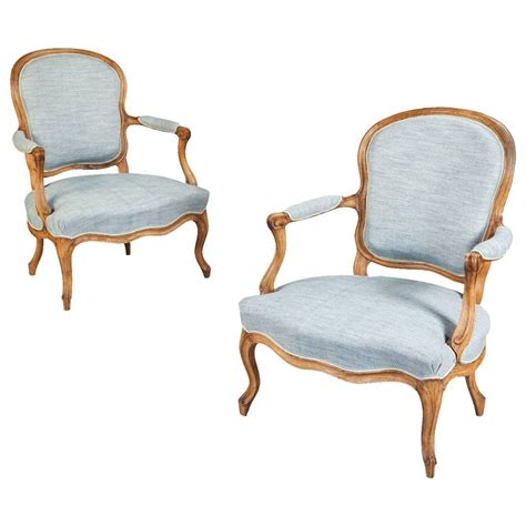 siege louis xv louis xv pair of armchairs or fauteuils sted
