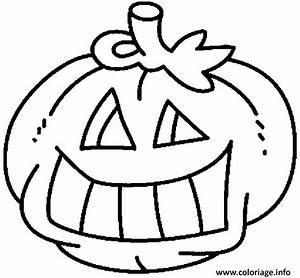 Citrouille Halloween Dessin : coloriage citrouille d halloween a colorier dessin ~ Melissatoandfro.com Idées de Décoration