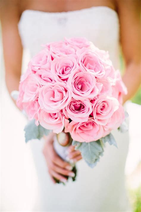 pink rose bouquet ideas  pinterest simple