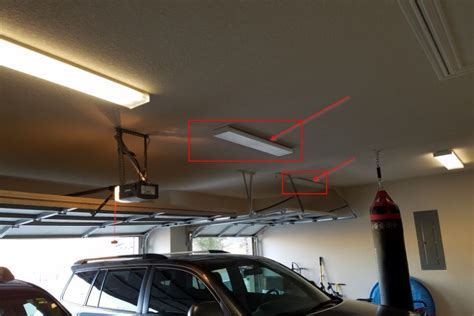 Fluorescent lights in garage ceiling not working. Do I