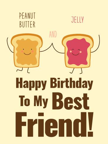 peanut butter jelly happy birthday card