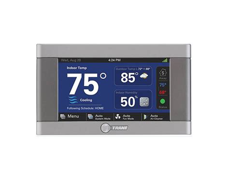 best residential hvac trane xl824 xl850 thermostat