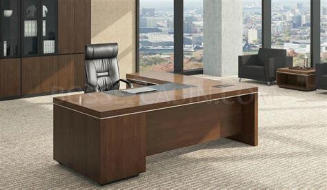 l shape office table in walnut office tables