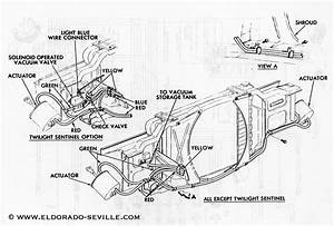 Eldorado Headlight Doors Vacuum Diagram Images