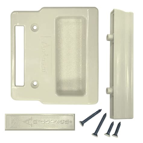 canvas insect screen hardware package  andersen andersen  series narroline gliding