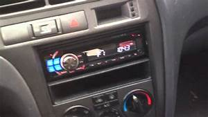 2001 Hyundai Elantra Alpine Electronics Dash Kit Radio Cde