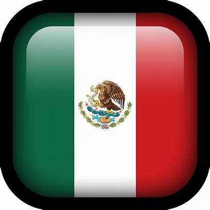 Flag Icon Mexico Square Flags Icons Hopstarter