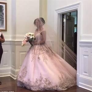 omarosa gets married in donald trump39s washington dc hotel With omarosa wedding dress