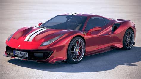Ferrari 2019 : Ferrari 488 Pista 2019