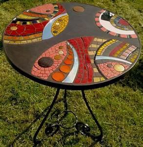 Table Mosaique Fer Forgé : les 25 meilleures id es de la cat gorie plateaux de table ~ Dailycaller-alerts.com Idées de Décoration