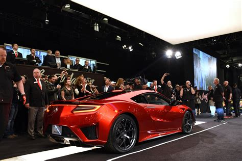 how much will the first 2017 acura nsx cost 1 2 million