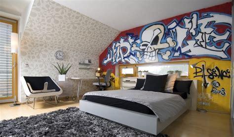 am駭ager une chambre d ado le style graffiti pour une chambre d ado trouver des idées de décoration tendances avec mr bricolage