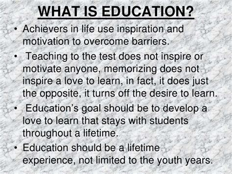 meaning  definition  education
