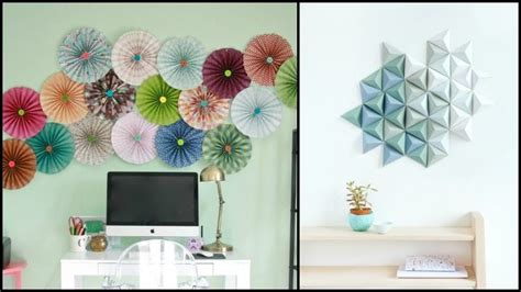 Wall Decoration Ideas Spice Up That Wall by Easy Paper Decor Ideas To Spruce Up Plain And Boring Walls