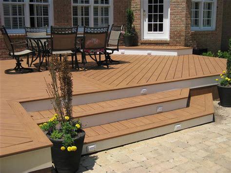 composite deck ideas composite deck design and construction acdecks