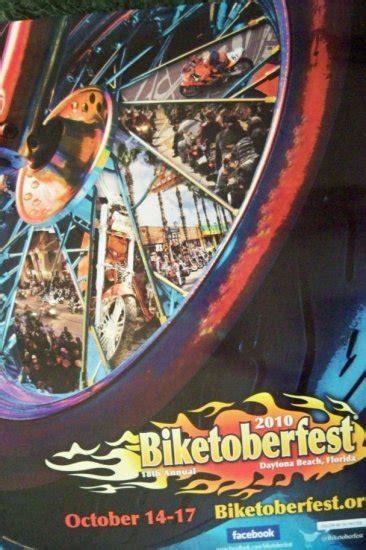 biketoberfest official daytona beach poster