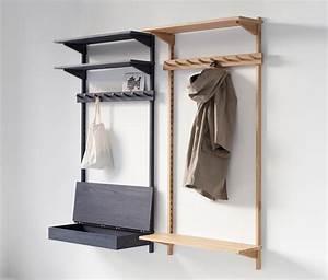 unit coat rack portemanteaux muraux de stattmann neue moebel architonic