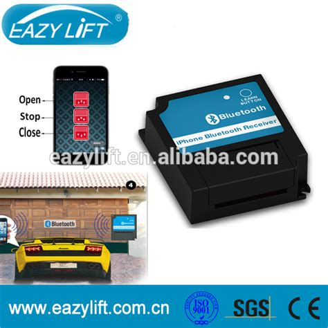 bluetooth garage door opener automatic garage door opener access system bluetooth