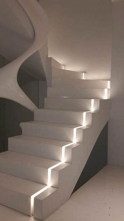 Staircase Lighting Interior Maison Modern Spectacular Trends