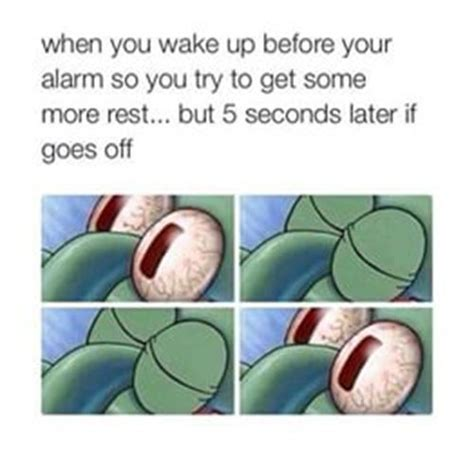 Spongebob Mattress Meme - sleeping squidward eyes meme funny spongebob memes bad feeling spongebob and memes