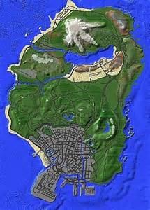Minecraft Grand Theft Auto 5 Map