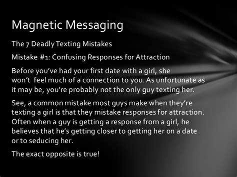 Magnetic Messaging How To Make Texting A Girl Easy And