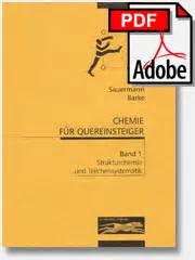 Chemie für Quereinsteiger - PDF Ausgabe - Übersicht