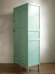 Armoire Parisienne Vintage : armoire parisienne armoire vintage maints vert mente ~ Teatrodelosmanantiales.com Idées de Décoration
