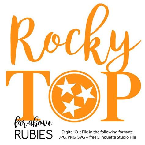 From wikipedia, the free encyclopedia. Rocky Top with the classic Tennessee Tri-star (digital cut ...