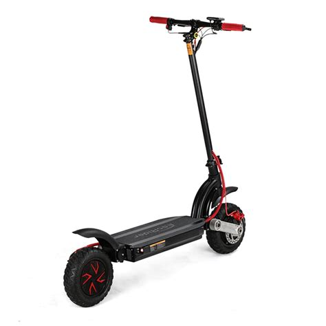 e scooter motor ecorider road folding electric scooter 10inch dual motor with 48v 10 4ah li on battery