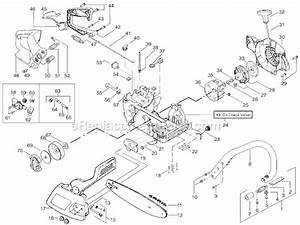 Poulan 2450 Chainsaw Fuel Line Diagram
