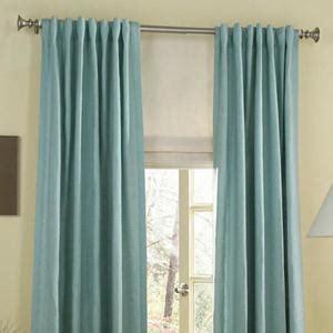 Tab Top Drapes by Back Tab Top Curtains And Custom Back Tab Drapes