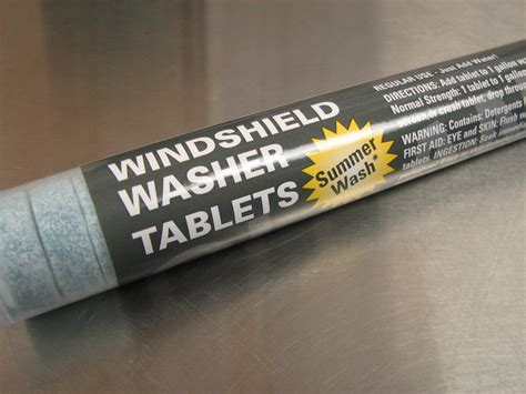 honda windshield washer tablets  pack  tabs