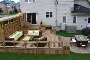 patio deck art design 174 contemporary montreal by