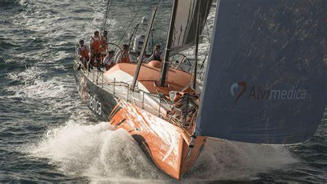 volvo ocean race team alvimedica training  portugal
