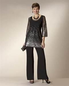 glaring black two pieces plus size mother of the bride With dress pant suits for weddings