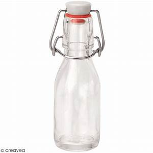 Bouteille De Verre : bouteille en verre avec syst me fermeture m tal 100 ml ustensile cuisine creavea ~ Teatrodelosmanantiales.com Idées de Décoration